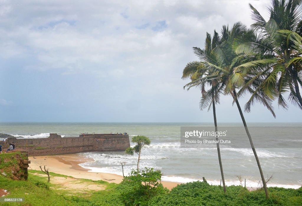 Sinquerim Beach : Stock Photo