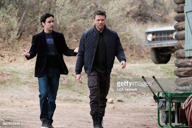 SHOOTER 'Sins of the Father' Episode 303 Pictured Jesse Bradford as Harris Downey Ryan Phillippe as Bob Lee Swagger
