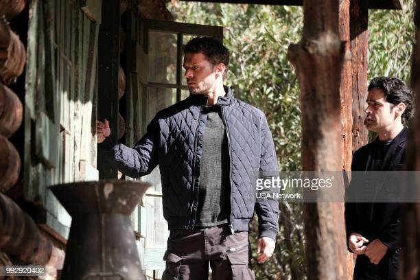 SHOOTER 'Sins of the Father' Episode 303 Pictured Ryan Phillippe as Bob Lee Swagger Jesse Bradford as Harris Downey