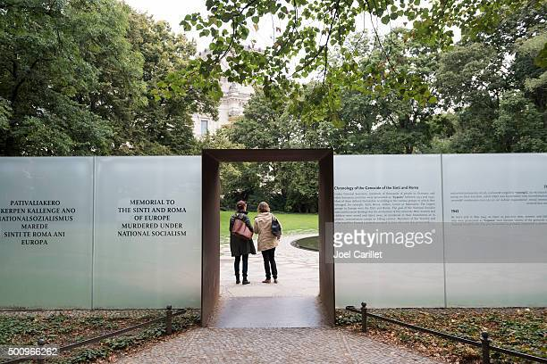 I rom e Sinti vittime memorial a Berlino, Germania