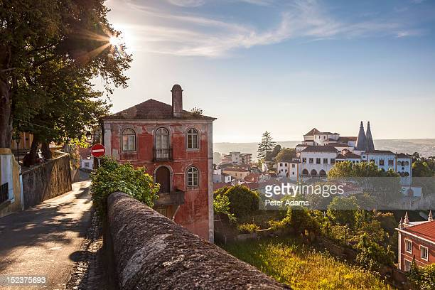sintra, near lisbon, portugal - sintra fotografías e imágenes de stock