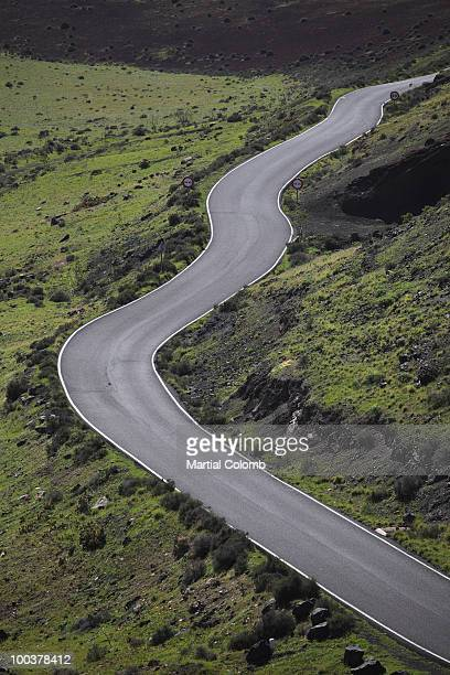 sinuous road - martial stock pictures, royalty-free photos & images