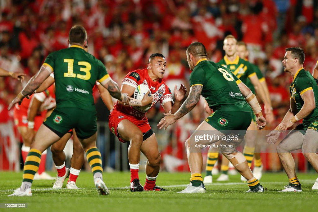 Tonga v Australia : News Photo