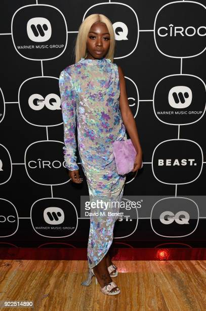 Siobhan Bell attends the Brits Awards 2018 After Party hosted by Warner Music Group Ciroc and British GQ at Freemasons Hall on February 21 2018 in...