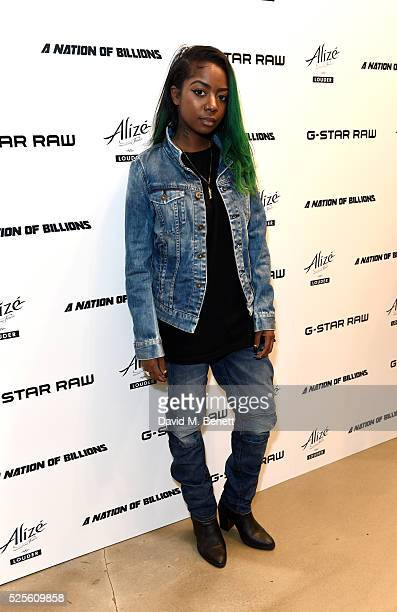 Siobhan Bell attends the GStar Elwood Sessions on April 28 2016 in London England