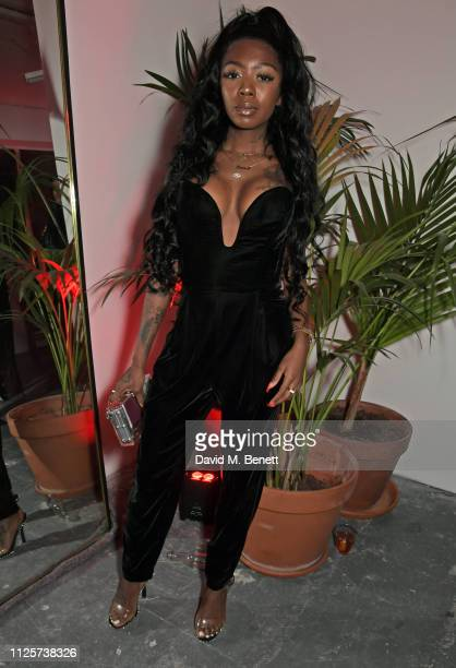 Siobhan Bell attends the LOVE x The Store X party celebrating LOVE issue 21 supported by Perrier Jouet at The Store X on February 18 2019 in London...