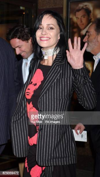 Siobhan Fahey arrive for the world charity premiere of Alfie at the Empire Leicester Square in central London in aid of MakeAWish foundation