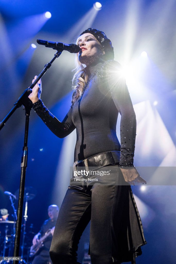 Siobhan Fahey of Bananarama performs at The Novo by Microsoft on February 20, 2018 in Los Angeles, California.