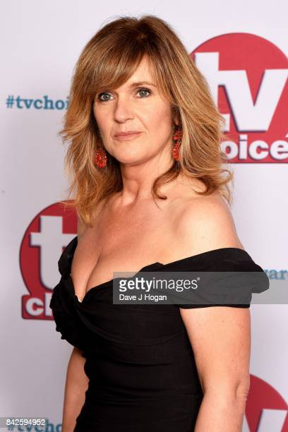 Siobhan Finneran arrives at the TV Choice Awards at The Dorchester on September 4, 2017 in London, England.