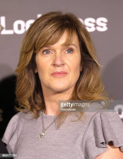Siobhan Finneran attends a photocall for 'Loch Ness' at the Santo Mauro Hotel on October 20, 2017 in Madrid, Spain.