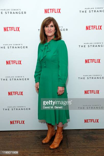 Siobhan Finneran attends 'Harlan Coben's The Stranger' screening and Q&A, which premieres on Netflix from 30 January 2020, at The Soho Hotel on...