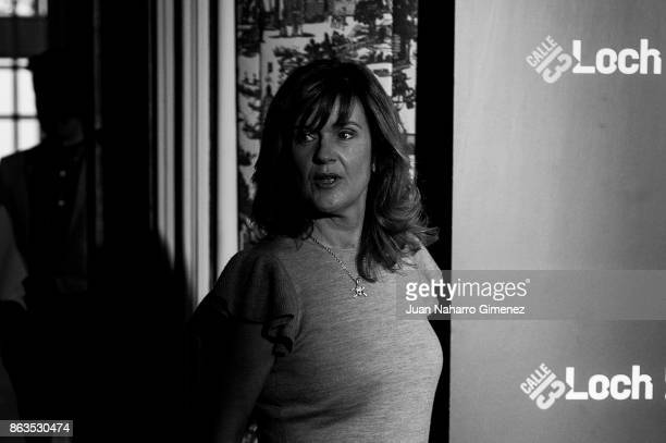 Siobhan Finneran attends 'Loch Ness' photocall at Santo Mauro Hotel on October 20 2017 in Madrid Spain