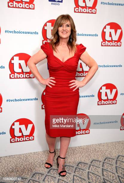 Siobhan Finneran attends the TV Choice Awards at The Dorchester on September 10, 2018 in London, England.
