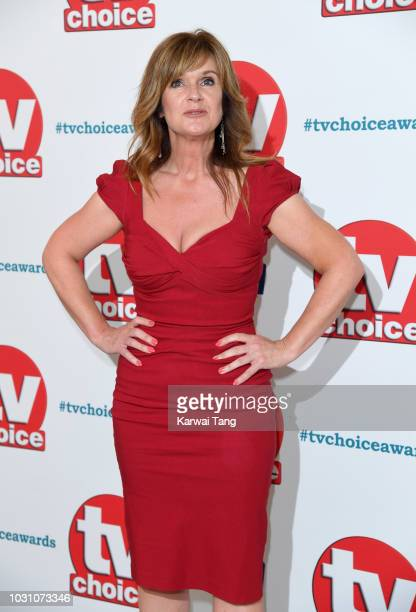 Siobhan Finneran attends the TV Choice Awards at The Dorchester on September 10 2018 in London England