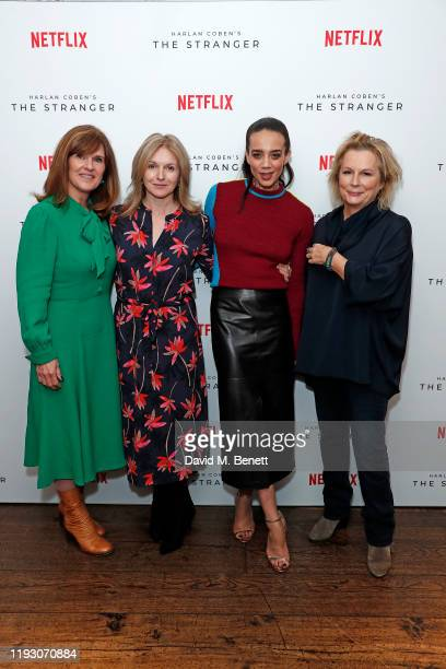 Siobhan Finneran, Dervla Kirwan, Hannah John-Kamen and Jennifer Saunders attend 'Harlan Coben's The Stranger' screening and Q&A, which premieres on...