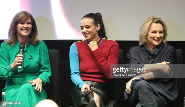 Siobhan Finneran, Hannah John-Kamen and Jennifer Saunders attend 'Harlan Coben's The Stranger' screening and Q&A, which premieres on Netflix from 30...