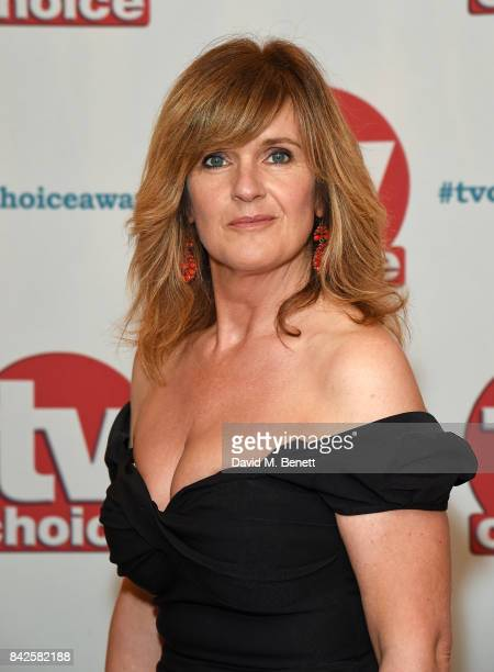 Siobhan Finneranattends the TV Choice Awards at The Dorchester on September 4, 2017 in London, England.