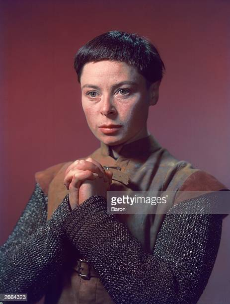 Siobhan Mc Kenna as Saint Joan Joan of Arc in George Bernard Shaw's play of the same name