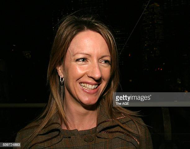 Siobhan Miller at the launch of the BBC's Antiques Roadshow in Australia Manchester Unity Building Collins street Melbourne 8 August 2005 THE AGE...