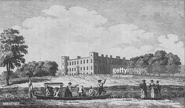 Sion House view'd from oposite Isleworth Church' circa 1760 Formerly the site of an abbey the estate at Syon was acquired after the dissolution of...
