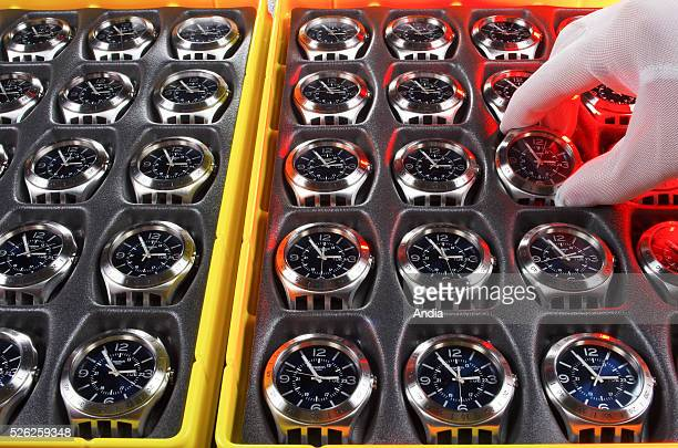 Swatch Group watch company Swatch production facility in Switzerland With 28 000 employees worldwide and owning about twenty brands the group covers...