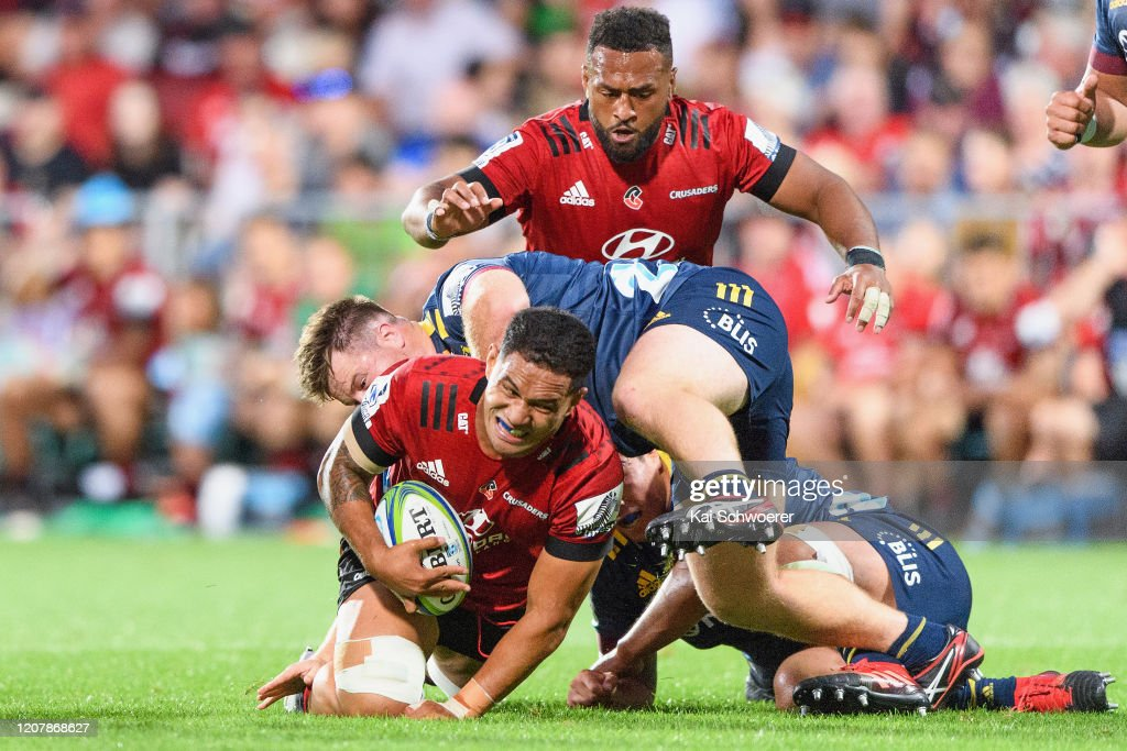 Super Rugby Rd 4 - Crusaders v Highlanders : News Photo