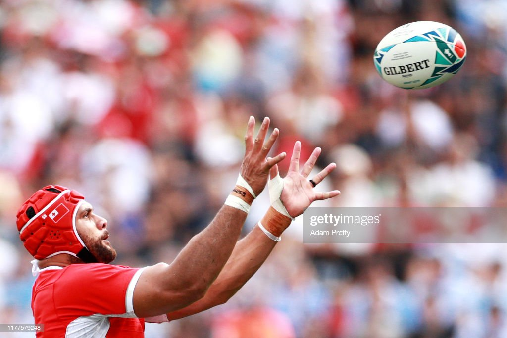 Argentina v Tonga - Rugby World Cup 2019: Group C : News Photo