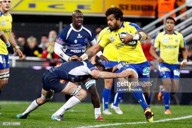 Sione LAUAKI Castres / Clermont Auvergne 21e journee Top 14