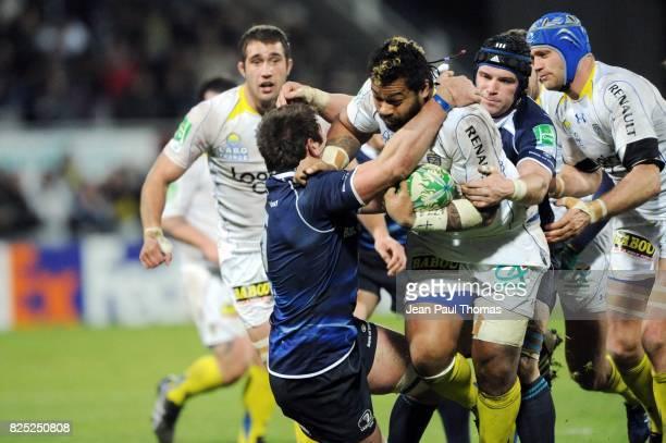 Sione LAUAKI Clermont Auvergne / Leinster 3eme Journee de Heineken Cup