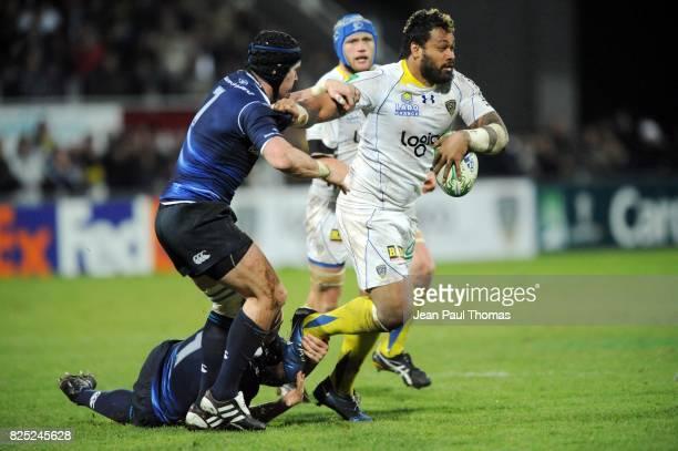 Sione LAUAKI Clermont Auvergne / Leinster Heineken Cup 2010/2011