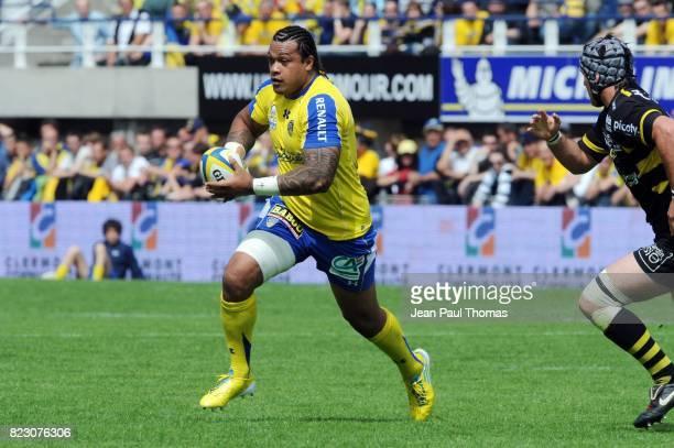 Sione LAUAKI Clermont Auvergne / La Rochelle 25eme journee de Top 14