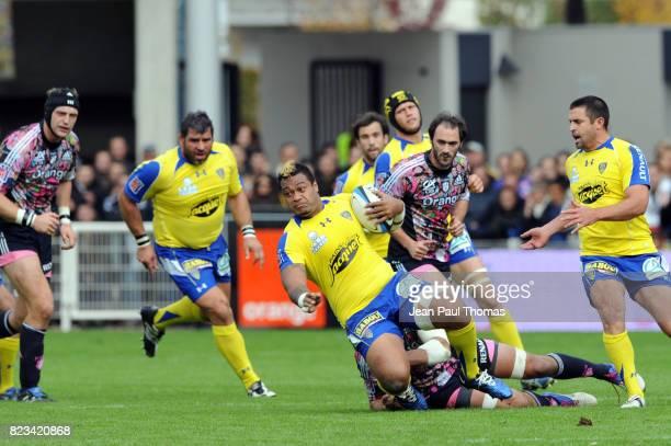 Sione LAUAKI Clermont Auvergne / Stade Francais 11eme journee de Top14