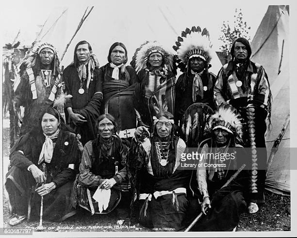 Sioux and Apacher Chiefs