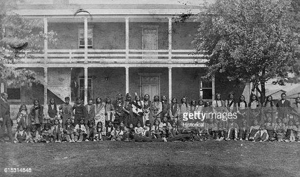 Sioux boys arrive at the Carlisle School October 5 1879