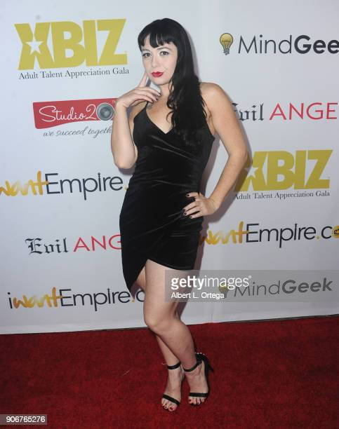 Siouxsie Q arrives for XBiz's RISE Performer Appreciation Event held at 1 Oak on November 15 2017 in West Hollywood California