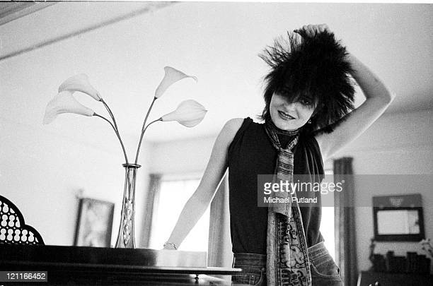 Siouxsie Sioux of Siouxsie And The Banshees portrait London August 1980