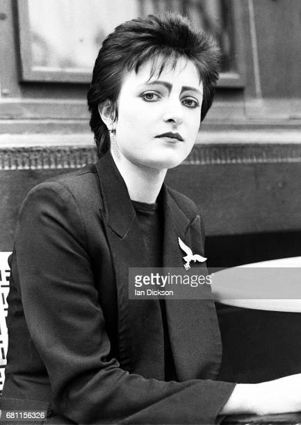 Siouxsie Sioux of Siouxsie The Banshees portrait London 1977