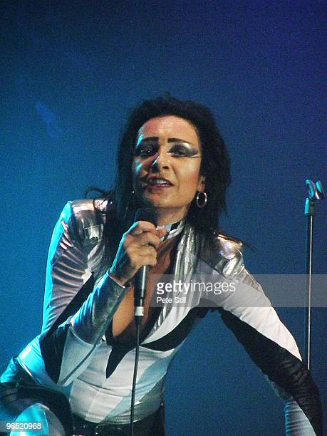 Siouxsie Sioux performs on stage at The O2 Wireless Festival in Hyde Park on July 4th 2008 in London United Kingdom
