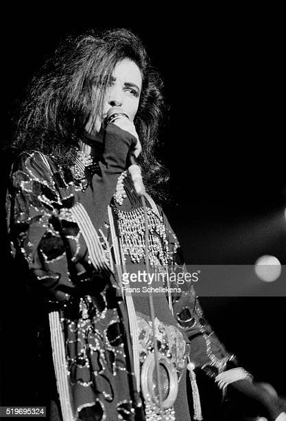 Siouxsie Sioux, vocal, performs with the Banshees on October 29th 1991 at Vredenburg in Utrecht, Netherlands.