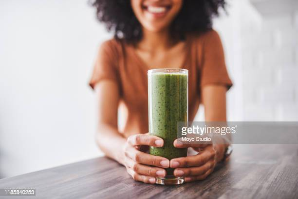 sip on something healthy - green color stock pictures, royalty-free photos & images