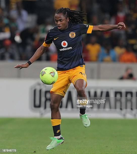 Siphiwe Tsabalala of Kaizer Chiefs during the Absa Premiership match between Ajax Cape Town and Kaizer Chiefs at Cape Town Stadium on May 01, 2013 in...