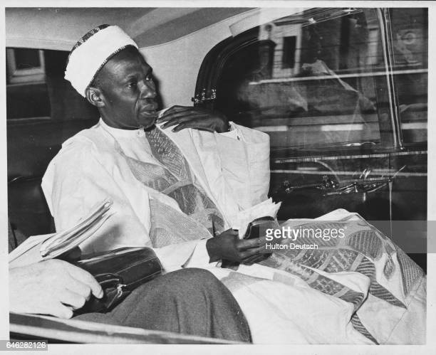 Sir Abubakhar Balewa the Prime Minister of Nigeria