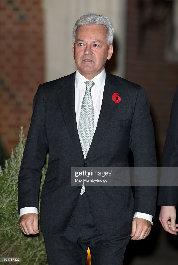 Sir Alan Duncan attends a Co-Operation Ireland Reception at Crosby Hall on November 8, 2016 in London, England. During the reception The Queen unveiled a portrait of herself by artist Colin Davidson.