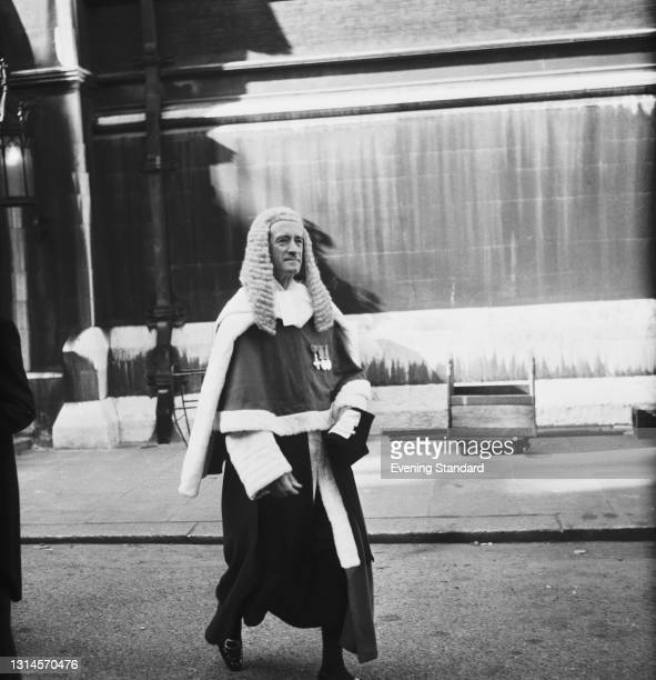 Sir Alan Mocatta , a Judge of the High Court of Justice , UK, 9th October 1973.