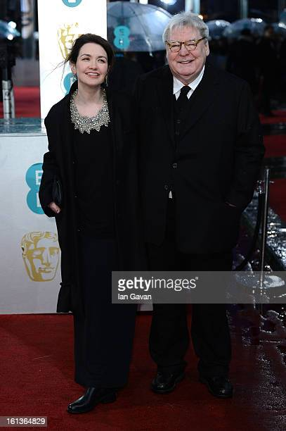 Sir Alan Parker and his wife Lisa Parker attend the EE British Academy Film Awards at The Royal Opera House on February 10 2013 in London England