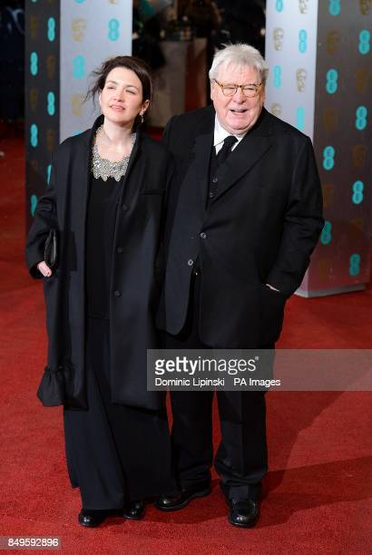 Sir Alan Parker and Lisa Parker arriving for the 2013 British Academy Film Awards at the Royal Opera House Bow Street London