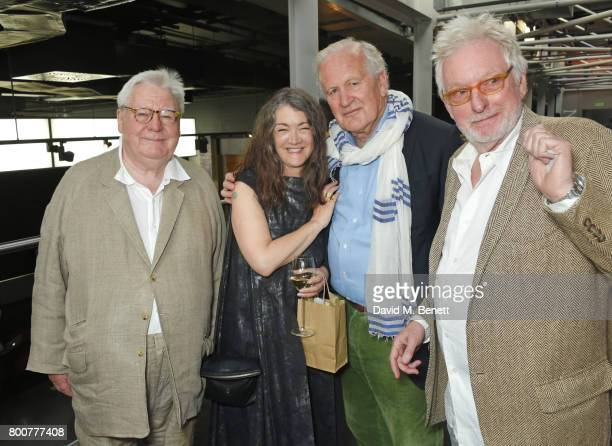 Sir Alan Parker Anwen ReesMyers wife of Sir John Hurt John Irvin and Hugh Hudson attend the BFI Southbank's tribute to Sir John Hurt on June 25 2017...