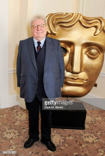 Sir Alan Parker attends a drinks reception awarding him the BAFTA Fellowship supported by Hackett at The Savoy Hotel on February 5 2013 in London...