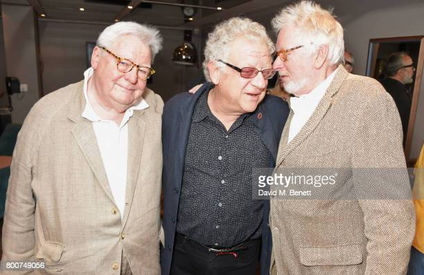 Sir Alan Parker Jeremy Thomas and Hugh Hudson attend the BFI Southbank's tribute to Sir John Hurt on June 25 2017 in London England