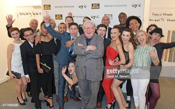 Sir Alan Parker poses with David Reuben Jessica Hepburn Executive Director of the Lyric Hammersmith Sean Holmes Artistic Director of the Lyric...